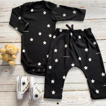 Conjunto minimalista Star Preto