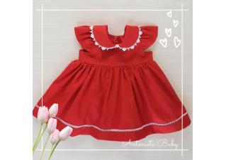 Vestido Boneca Vermelho